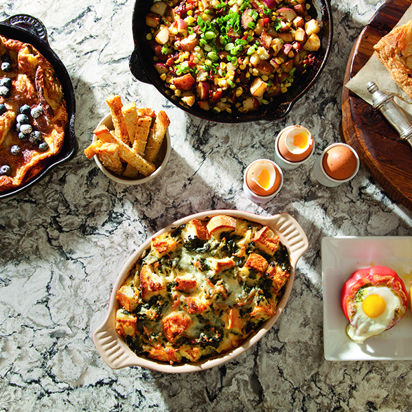 Cambria Style Magazine~Classic Brunch Recipes Paired To