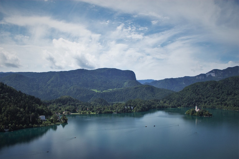 Slovenia's Lake Bled (photo by Kathryn Stewart)
