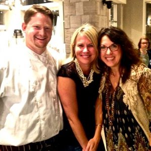 Create Catering's Chef Corey Meier & Event Director, Nicky Metchnek